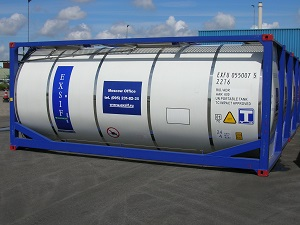 20' (6m) Tankcontainer
